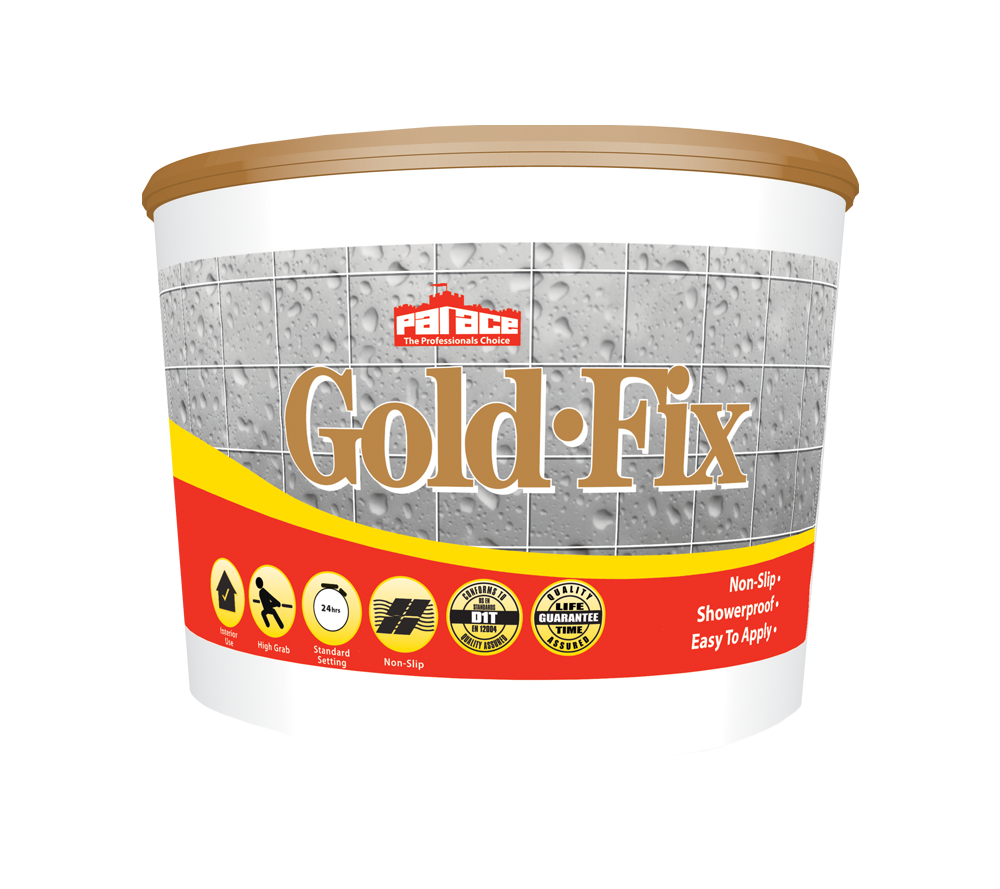 Palace Gold Fix Wall Tile Adhesive 10Ltr