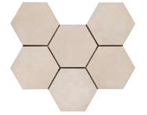 Rewind Hexagon Corda 210 x 182mm