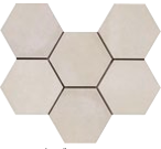 Rewind Hexagon Vanilla 210 x 182mm