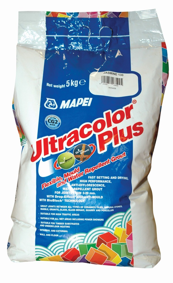 Mapei Ultracolor Plus No.100 White 5KG