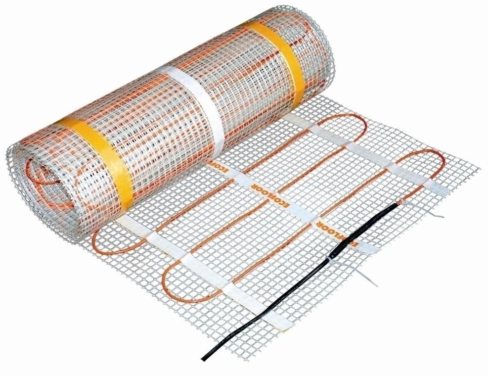 Underfloor Heating Mat 200W. Covers 1m2
