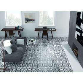 Arte Grey Patterned 250 x 250mm