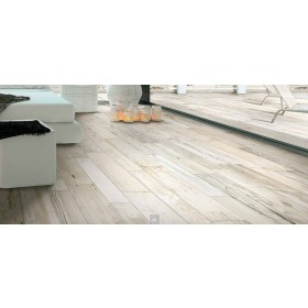 Expo Off White Distressed Wood Effect 130 x 790mm
