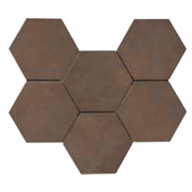 Rewind Hexagon Tabacco 210 x 182mm