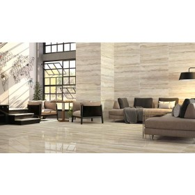 Levante Natural Stone Effect Polished Porcelain 450 x 1180mm