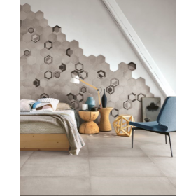 Rewind Vanilla Concrete Effect 750 x 750mm