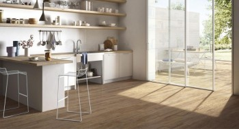 Java Pecan Wood Effect Tile