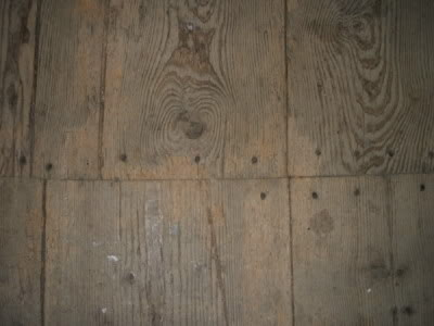 tile a wooden floor