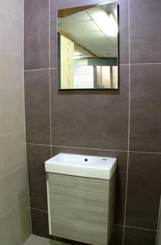 nuvola brown large format porcelain